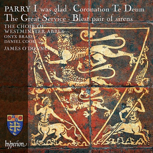 Daniel Cook - Parry:I Was Glad/Coronation Te Deum/G (CD) - image 1 of 1