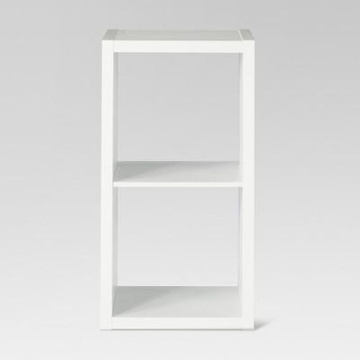 "13"" 2 Cube Organizer Shelf White - Threshold™"