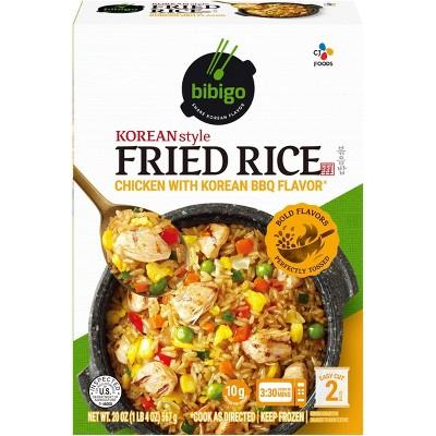 Bibigo Frozen Korean Style Fried Rice Chicken with Korean BBQ Flavor -  20oz