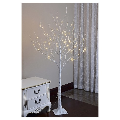 Lightshare 6 Led Birch Tree Decoration Light Warm White Lights Target