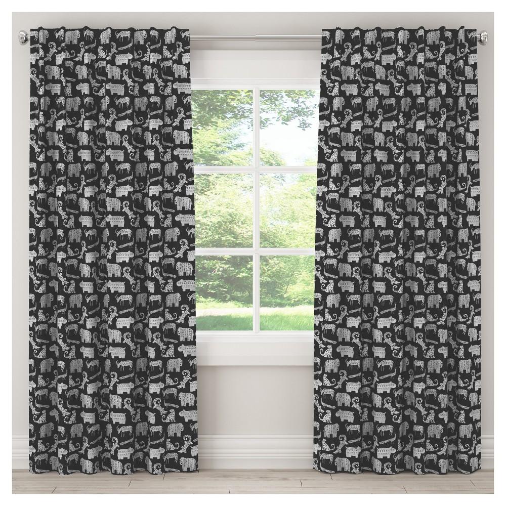 Menagerie Blackout Curtain Panel (84