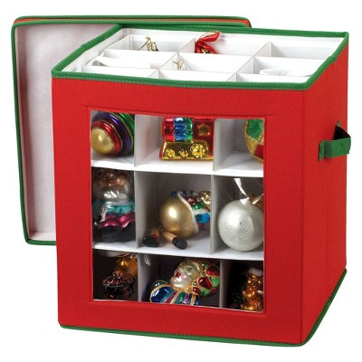 Household Essentials 27 Pc. Holiday Ornament Storage : Target