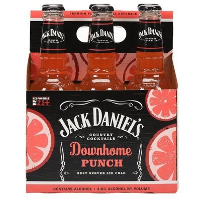 Jack Daniel's Downhome Punch Country Cocktails - 6pk/10 fl oz Bottles