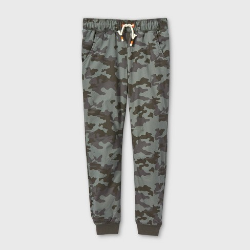 Boys' Lined Pull-On Jogger Fit Pants - Cat & Jack™ - image 1 of 2