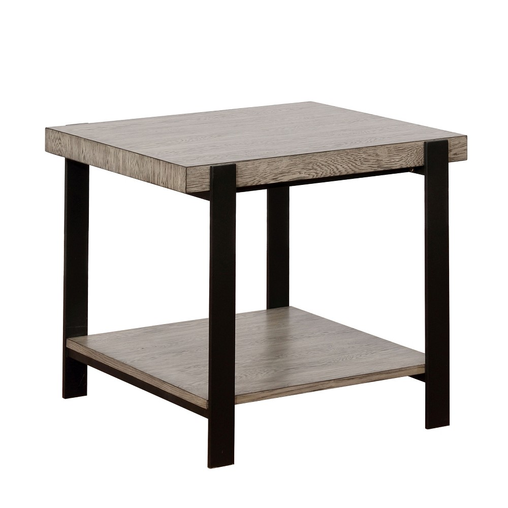 Accent Tables Casual Gray - miBasics