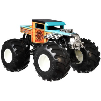 Hot Wheels Monster Trucks Bone Shaker - 1:24 Scale Vehicle