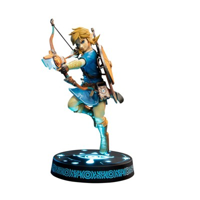 """First 4 Figures The Legend of Zelda: Breath of the Wild - Link 10"""" PVC Statue Collector's Edition"""
