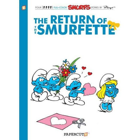 The Smurfs #10 - (Smurfs Graphic Novels (Hardcover)) (Hardcover) - image 1 of 1