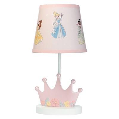 Lambs & Ivy Disney Baby Princesses Lamp with Shade & Bulb