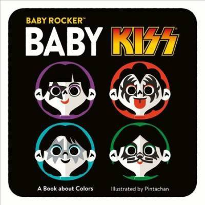 Baby Kiss : A Book About Colors - BRDBK (Baby Rocker)(Hardcover)