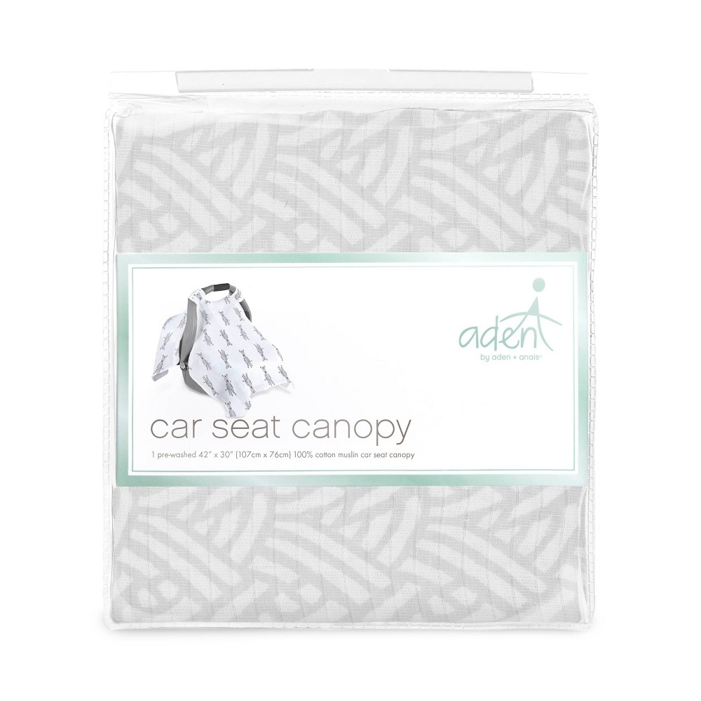 Image of aden by aden + anais Car Seat Canopy - Pasture