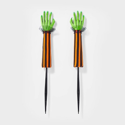 Yard Stake Witch Hands Halloween Decorative Holiday Scene Prop - Hyde & EEK! Boutique™