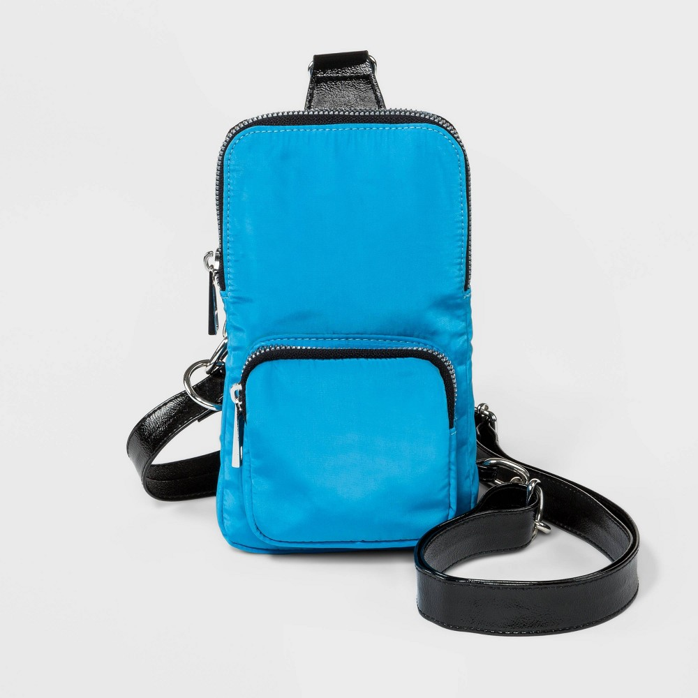 Stella 38 Max Zip Closure Sling Pack Blue