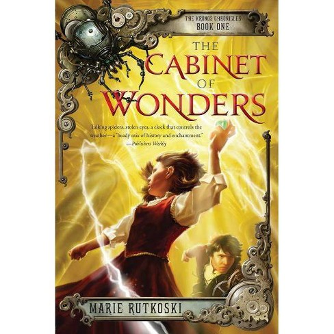 The Cabinet of Wonders - (Kronos Chronicles) by  Marie Rutkoski (Paperback) - image 1 of 1