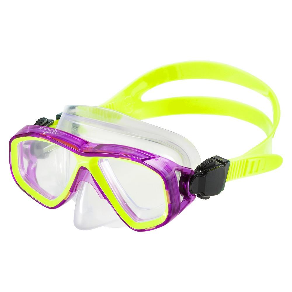 Speedo Kids Surf Gazer Mask - Purple, Purple/Green