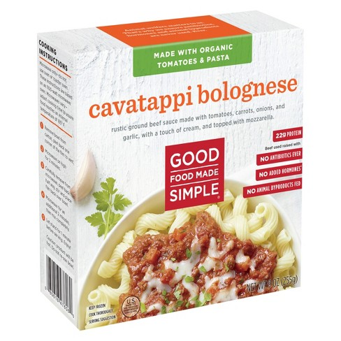 Good Food Made Simple Cavatappi Bolognese - 9 oz - image 1 of 1