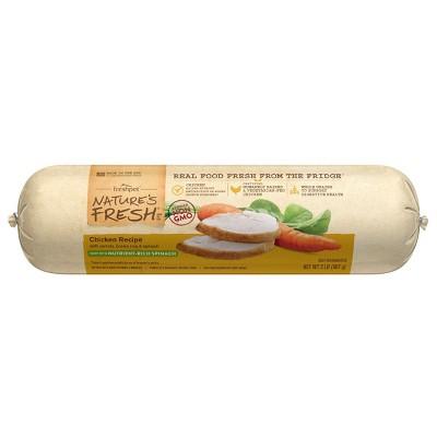 Freshpet Nature's Fresh Roll Chicken Recipe Refrigerated Dog Food
