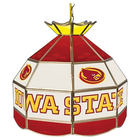 "NCAA Iowa State Cyclones Stained Glass Tiffany Lamp - 16"" - image 1 of 1"