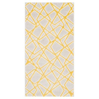 Anna Accent Rug - Light Gray / Lime ( 2' X 3' 7  )- Safavieh®