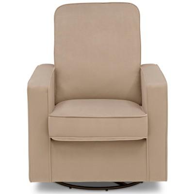 Delta Children Landry Nursery Glider Swivel Rocker Chair - Biscotti Beige