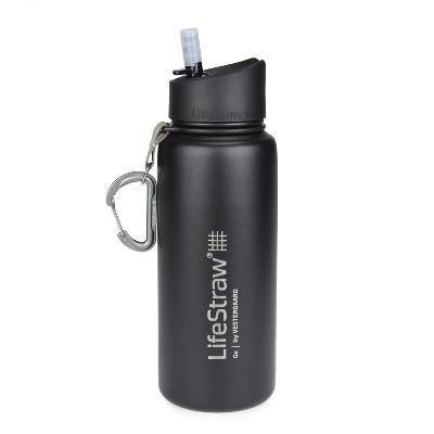 LifeStraw Go Stainless Steel 24oz Water Filter Bottle
