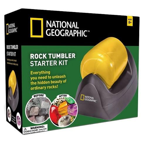 National Geographic Rock Tumbler Starter Kit Target