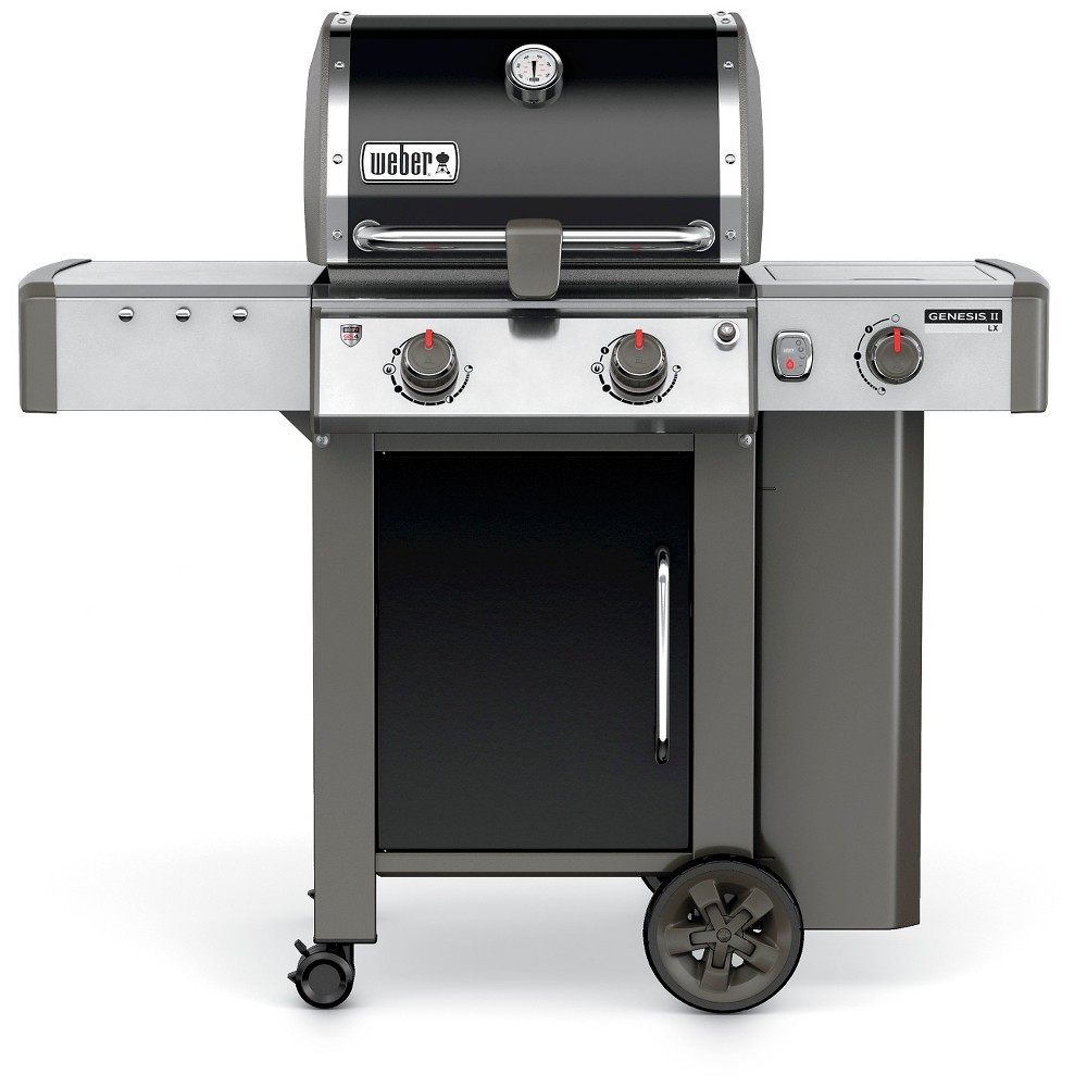 Weber Genesis II LX E-240 2 Burner LP Gas Grill- Black 51857202