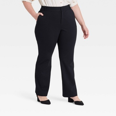 Women's Plus Size Ponte Pants - Ava & Viv™