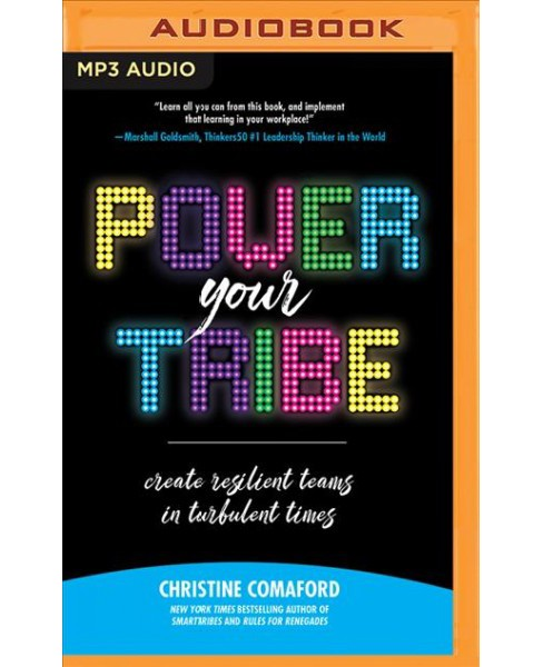 Power Your Tribe : Create Resilient Teams in Turbulent Times -  by Christine Comaford (MP3-CD) - image 1 of 1