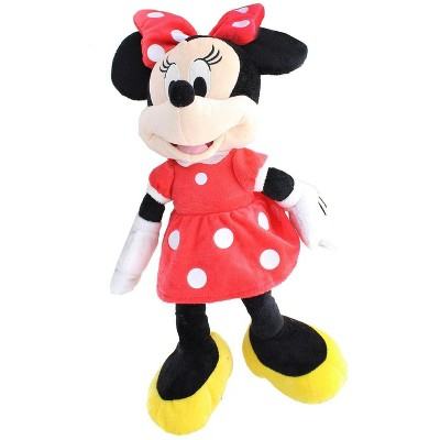 Just Play Disney Mickey Mouse Clubhouse 15.5 Inch Plush - Minnie Red Dress