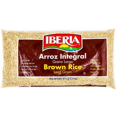 Rice: Iberia Long Grain Brown Rice
