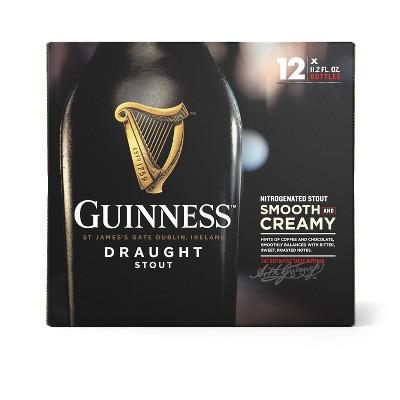 Guinness Draught Beer- 12pk/11.2 fl oz Bottles