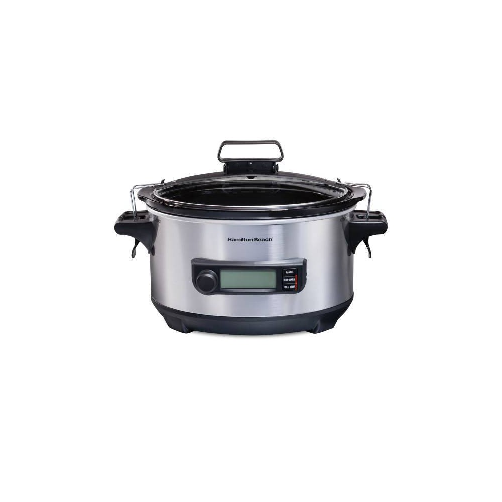 Image of Hamilton Beach 6qt Slow Cooker - Silver