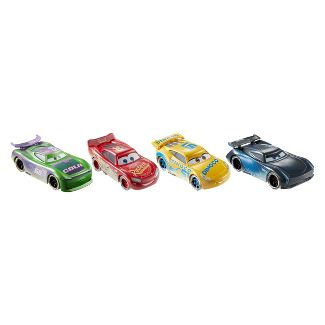 Disney Pixar Cars Fireball Beach Racers Beach Racing 4pk