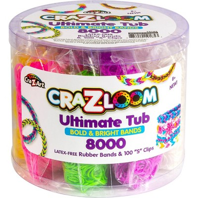 Cra-Z-Loom Bands Ultimate Tub Accessory Set by Cra-Z-Art