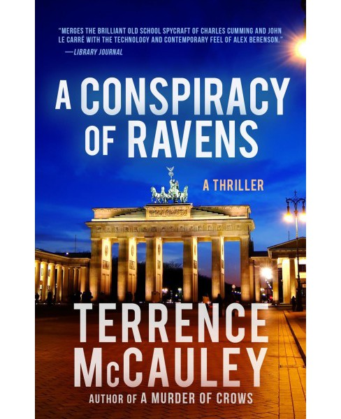 Conspiracy of Ravens -  (James Hicks) by Terrence Mccauley (Paperback) - image 1 of 1