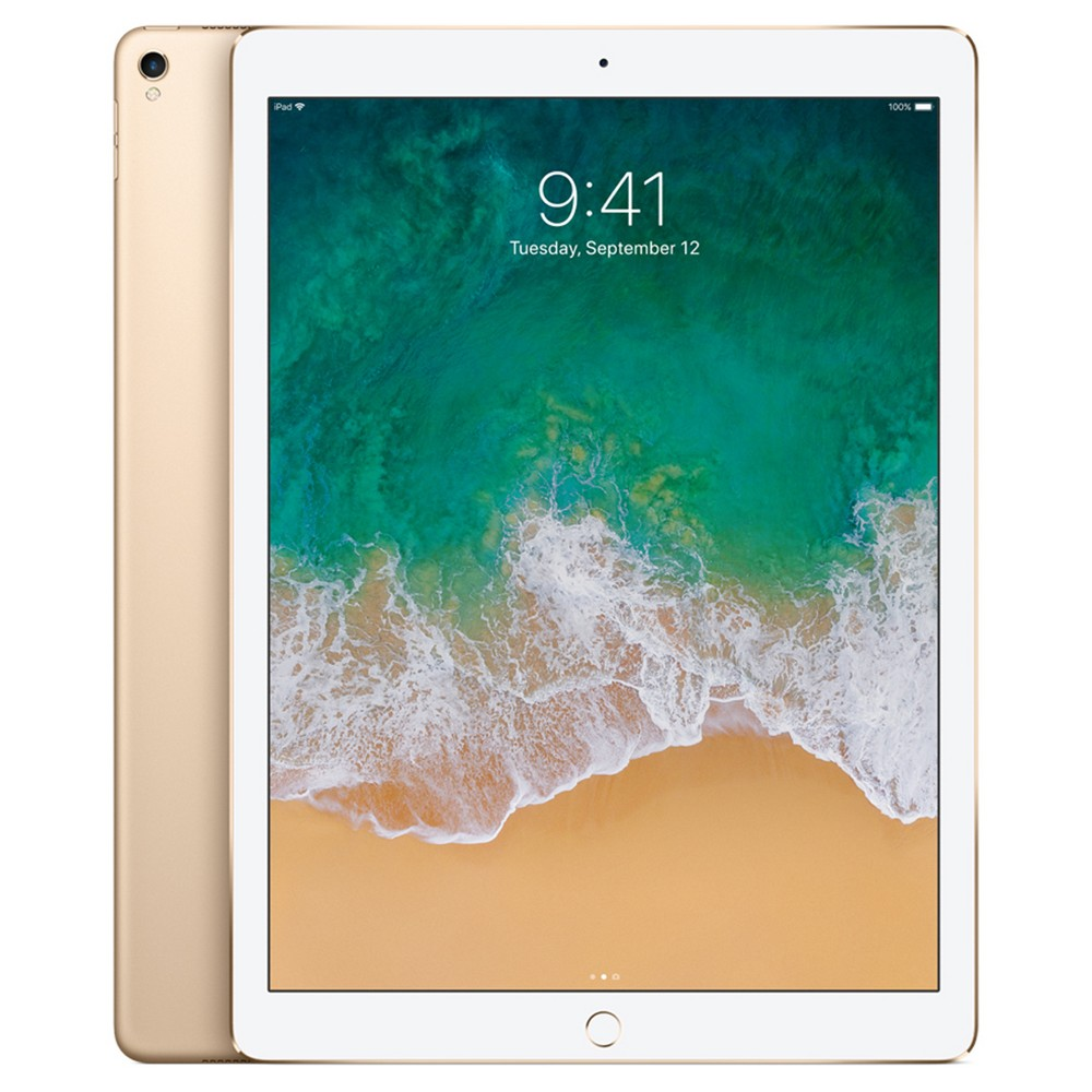 "Apple iPad Pro 12.9"" 256GB Wi-Fi Only (2017 Model, 2nd Generation, MP6J2LL/A) - Gold"