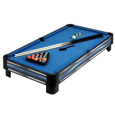 Fabulous Hathaway Breakout 40 Tabletop Pool Table Blue Silver Download Free Architecture Designs Intelgarnamadebymaigaardcom