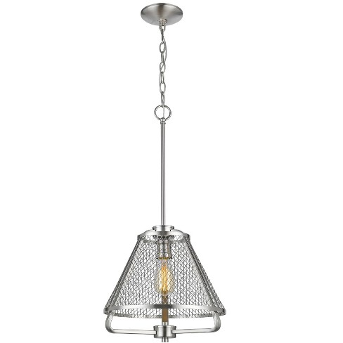 "Z-Lite 451-12 Iuka Single Light 12"" Wide Pendant - image 1 of 1"