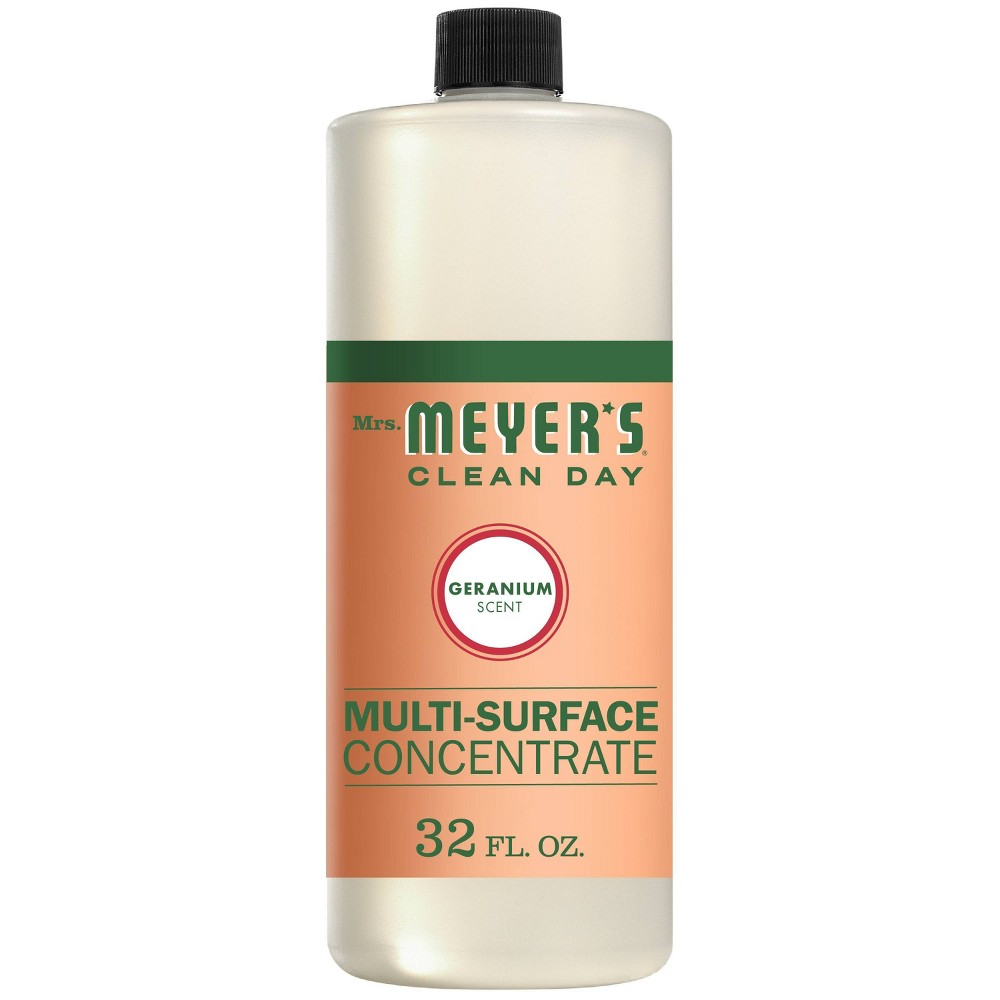 Mrs Meyer 39 S Geranium All Purpose Cleaner Concentrate 32 Fl Oz