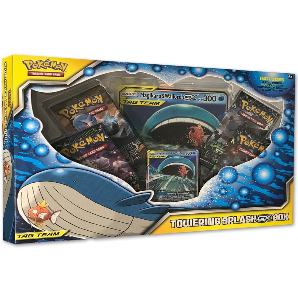 Best Price Pokemon Trading Card Game Towering Splash GX Box