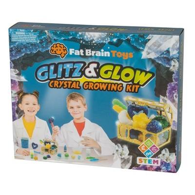 Fat Brain Toys Glitz & Glow Crystal Growing Kit FB393-1
