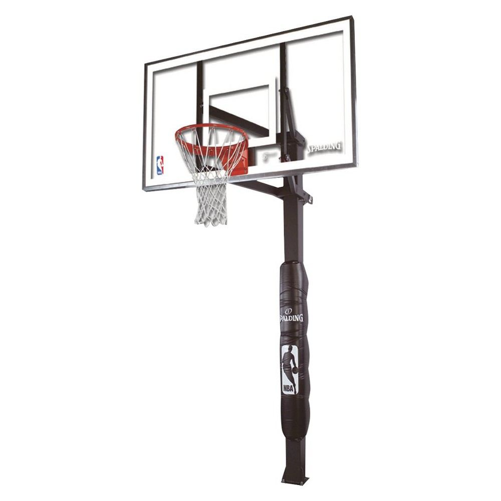 Spalding NBA 54 Glass In Ground Basketball Hoop