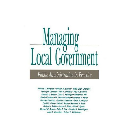Managing Local Government - by  Richard D Bingham (Paperback) - image 1 of 1