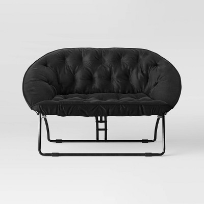 Double Dish Chair Black - Room Essentials™