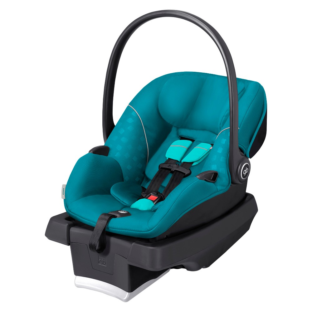 Image of GB Asana Infant Car Seat with Load Leg Base - Capri Blue
