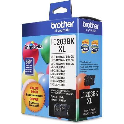 Brother LC2032PKS Innobella High-Yield Ink Black 2/PK