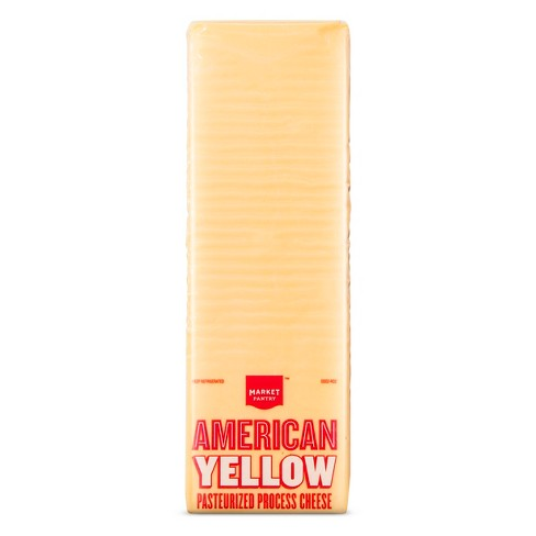 American Yellow Cheese - Price Per lb. - Market Pantry™ - image 1 of 1