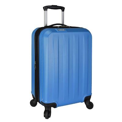 """Elite Luggage 21"""" Dori Expandable Suitcase - Blue"""