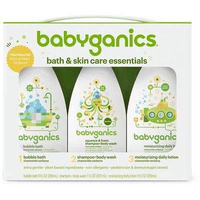 Babyganics Bath Time Regimen Kit